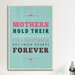 <strong>American Flat Forever Mothers Textual Art on Canvas</strong> by iCanvasArt