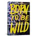 <strong>Born to Be Wild II by Leah Flores 3 Piece on Canvas Set</strong> by iCanvasArt