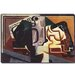 """Glas und Karaffe"" Canvas Wall Art by Juan Gris"