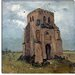 """The Old Church Tower at Nuenen (the Peasants' Churchyard)"" Canvas Wall Art by Vincent Van Gogh"