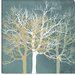 """Tranquil Trees"" Canvas Wall Art by Erin Clark"