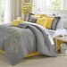 Chic Home Floral 8 Piece Comforter Set