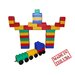 Serec Entertainment Jumbo Blocks 60 Piece Train Station Playset