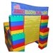 Jumbo Blocks 99 Piece Playland Playhouse