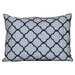 <strong>Vera Wang</strong> Pom Pom Embroidered Decorative Pillow