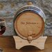 <strong>JDS Personalized Gifts</strong> Personalized Gift 2 Liter Wine Barrel