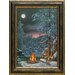 <strong>North American Art</strong> 'Fire and Ice' by Kim Norlien Framed Painting Print