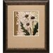 <strong>North American Art</strong> 'Paris Daisy I' by Chariklia Zarris Framed Graphic Art