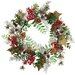 <strong>Oddity Inc.</strong> Berry Pinecone Ivy Glitter Wreath