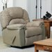 Taurus Leather Chaise Recliner