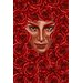 <strong>'Bed of Roses' Graphic Art on Wrapped Canvas</strong> by Maxwell Dickson