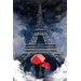 "<strong>Maxwell Dickson</strong> ""Rainy Night in Paris"" Graphic Art on Canvas"