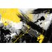 Maxwell Dickson 'Yellow Jacket' Abstract Painting Print on Wrapped Canvas