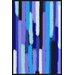 Maxwell Dickson 'Waterfall Showers' Abstract Graphic Art on Wrapped Canvas