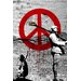 Maxwell Dickson 'Time for Peace' Graphic Art on Wrapped Canvas