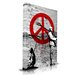 Maxwell Dickson Time 4 Peace Original Painting on Canvas