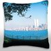 <strong>Panoramic Cityscape Throw Pillow</strong> by Maxwell Dickson