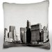 Maxwell Dickson New York Skyline Throw Pillow