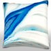 <strong>Cross-section of Pattern of Ice in Layers Throw Pillow</strong> by Maxwell Dickson