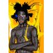 Maxwell Dickson 'New Cabesa' by Jean Michel Basquiat Graphic Art on Wrapped Canvas