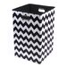 <strong>Modern Littles</strong> Bold Chevron Folding Laundry Basket