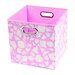 <strong>Modern Littles</strong> Rose Giraffe Folding Storage Bin