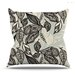 Java Leaf Throw Pillow