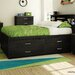 <strong>Lazer Full Captain Bed</strong> by South Shore