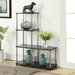 "Convenience Concepts Multi ""L"" Shaped 41.75"" Bookcase"