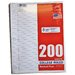 200 Count College Ruled Looseleaf Paper