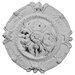 """<strong>Southampton 16.5"""" H x 16 1/2"""" W x 2.38"""" D Ceiling Medallion</strong> by Ekena Millwork"""
