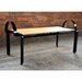 Bridge Arm Dining Bench