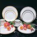 "Ten Strawberry Street Luxor 10.625"" Dinner Plate"