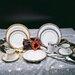 """Ten Strawberry Street Paradise 10.625"""" Dinner Plate"""