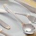 Ten Strawberry Street Parisian Gold Stainless Steel Teaspoon