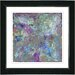 "<strong>Studio Works Modern</strong> ""Nova"" by Zhee Singer Framed Giclee Print Fine Art in Blue"