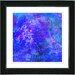 "Studio Works Modern ""Yonder"" by Zhee Singer Framed Giclee Print Fine Art in Blue"