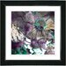 "<strong>Studio Works Modern</strong> ""Annapolis Floral Honey"" by Zhee Singer Framed Giclee Print Fine Art in Pink"