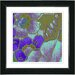 "<strong>Studio Works Modern</strong> ""Floral Conjunction"" by Zhee Singer Framed Giclee Print Fine Art in Purple"