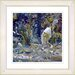 "<strong>""Water Bird"" by Zhee Singer Framed Giclee Print Fine Art in Blue</strong> by Studio Works Modern"