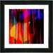 "Studio Works Modern ""Windfall"" by Zhee Singer Framed Giclee Print Fine Art in Red"