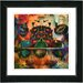 "<strong>Studio Works Modern</strong> ""Fruit Punch"" by Zhee Singer Framed Giclee Print Fine Art in Orange"