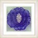 "<strong>Studio Works Modern</strong> ""Crystal Flower - Purple"" by Zhee Singer Framed Fine Art Giclee Print"