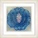 "<strong>Studio Works Modern</strong> ""Crystal Flower - Blue"" by Zhee Singer Framed Fine Art Giclee Print"