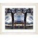 """<strong>""""Homestead - Blue"""" by Mia Singer Framed Fine Art Giclee Print</strong> by Studio Works Modern"""
