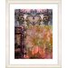 "<strong>""Bustle - Orange"" by Zhee Singer Framed Fine Art Giclee Print</strong> by Studio Works Modern"