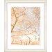 "<strong>""Filigree Flower Branches - Orange"" by Zhee Singer Framed Fine Art ...</strong> by Studio Works Modern"