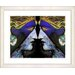 """<strong>""""Enigma - Blue"""" by Mia Singer Framed Fine Art Giclee Print</strong> by Studio Works Modern"""