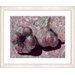 "<strong>Studio Works Modern</strong> ""Garlic - Red"" by Zhee Singer Framed Fine Art Giclee Print"