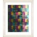 """<strong>""""Alchemical Table - Turquoise"""" by Zhee Singer Framed Fine Art Gicle...</strong> by Studio Works Modern"""